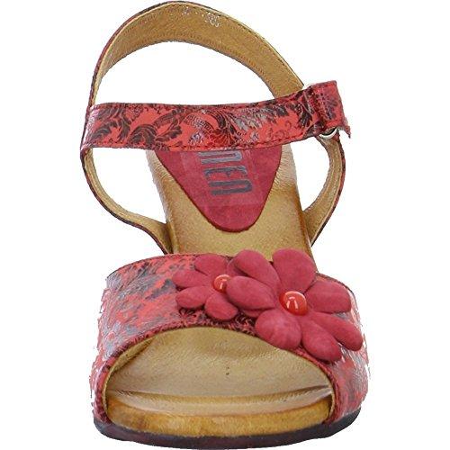 Sandali Da Donna Simen 220a Rosso