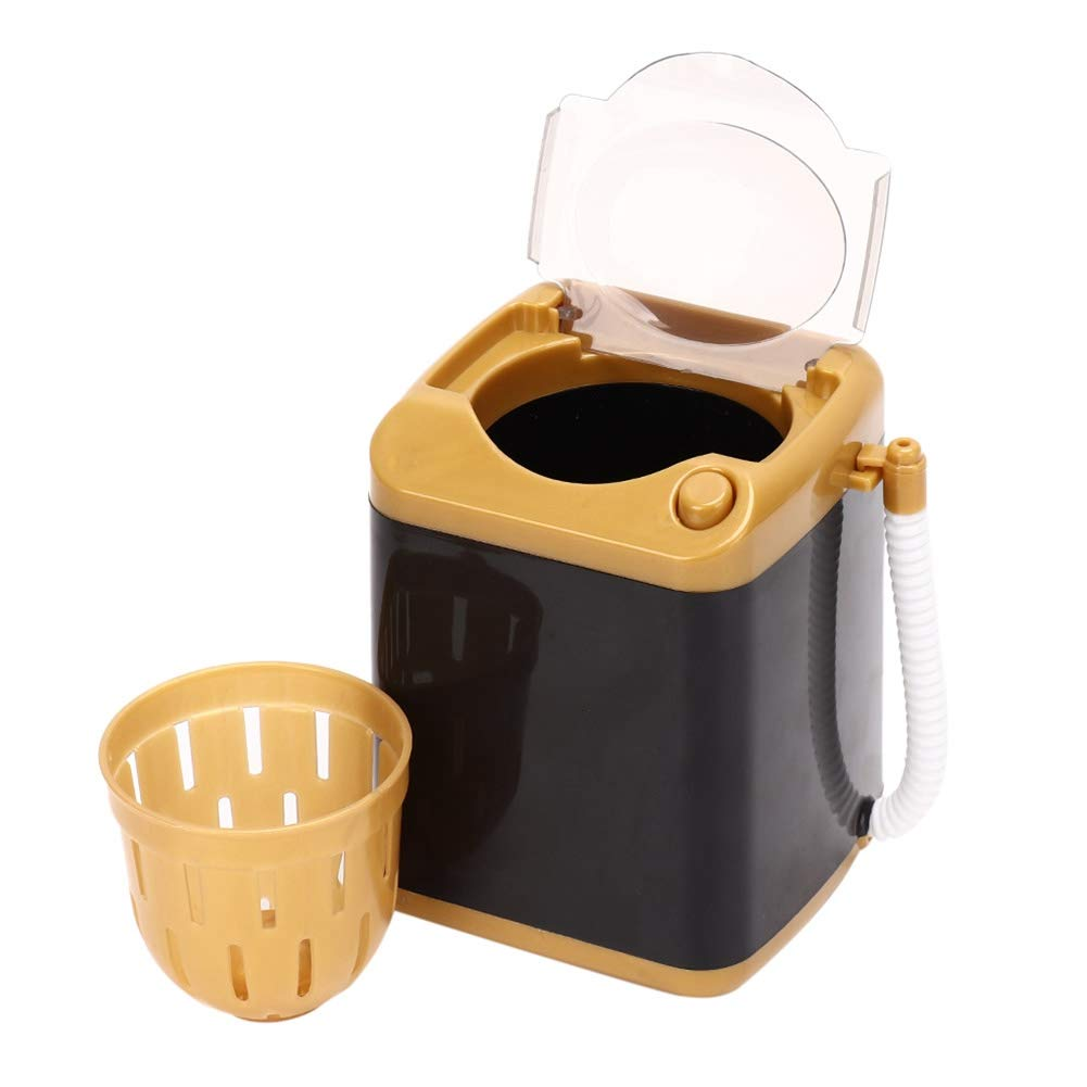 01 /& Schnelltrocknende Waschmaschine Kosmetische Werkzeugreinigungsmaschine Kinder Spielzeug Geschenk Yuyte Electric Mini Schnellreinigungs