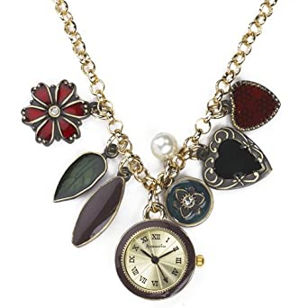 Accessorize ladies charm pendant watch j1004 accessorize amazon accessorize ladies charm pendant watch j1004 mozeypictures Images