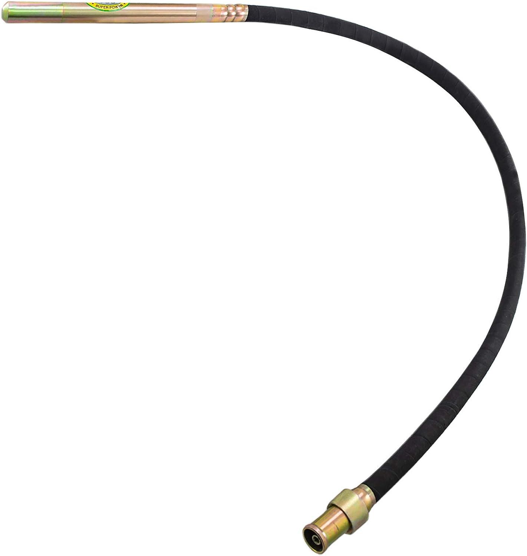 VEVOR Vibrateur /à B/éton Portable 1200W avec agitateur /à b/éton 5000VPM arbre 2m