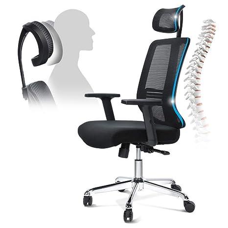 Amazon.com: SSOKS - Mesa y silla de malla con respaldo alto ...