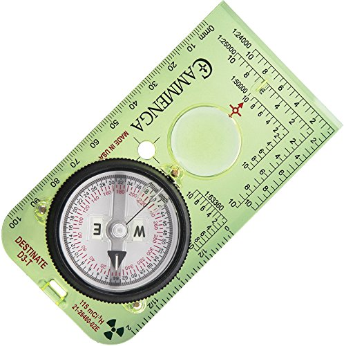 Tritium Protractor Compass by Cammenga