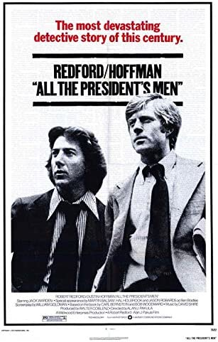 Amazon.com: All The President's Men Poster Movie (27 x 40 Inches - 69cm x  102cm) (1976): Posters & Prints