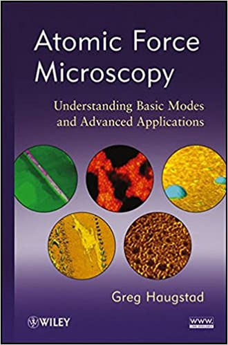 Read Atomic Force Microscopy: Understanding Basic Modes and Advanced Applications PDF, azw (Kindle)