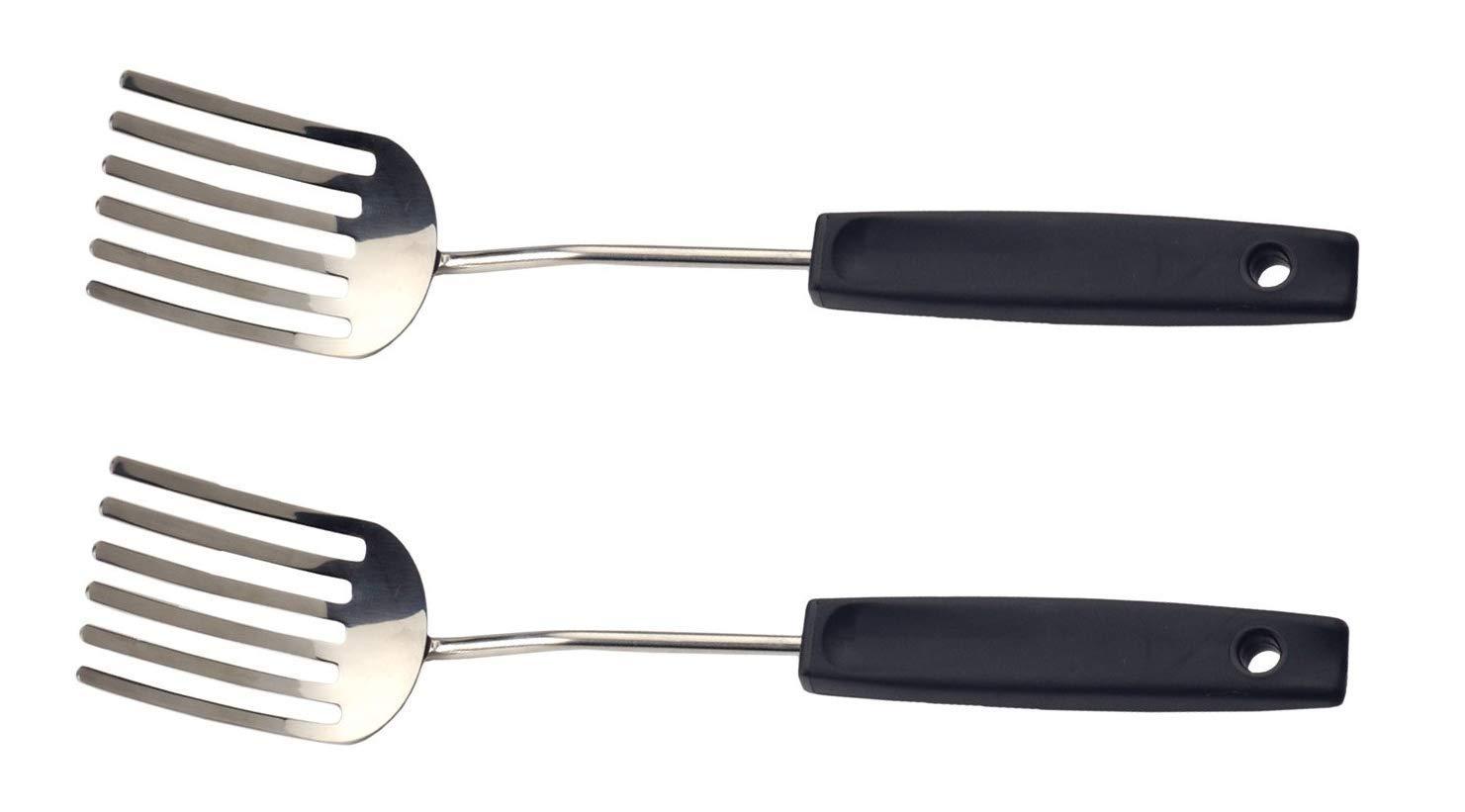 RSVP Fantastic Food Blending Fork Stainless Steel Scrambled Eggs FFF-10 (2-Pack) by RSVP