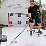 Better Hockey Extreme Passer Clamp-On Pro - Size 30 Inches - Puck Rebounder for Passing, Shooting and One Timers – Clamp On to Any Shooting Pad, Dryland Flooring Tiles and Synthetic Ice
