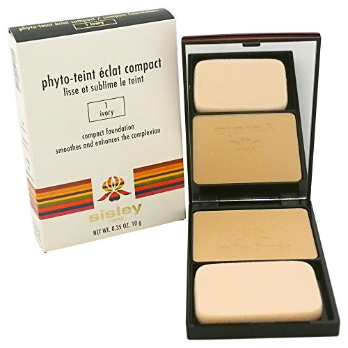 sisley Phyto Teint Éclat Compact Foundation, 1 Ivory