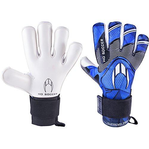 HO SUPREMO PRO KONTAKT EVOLUTION JUNIOR Goalkeeper Gloves Size 5 Blue/Blk - Kontakt Player