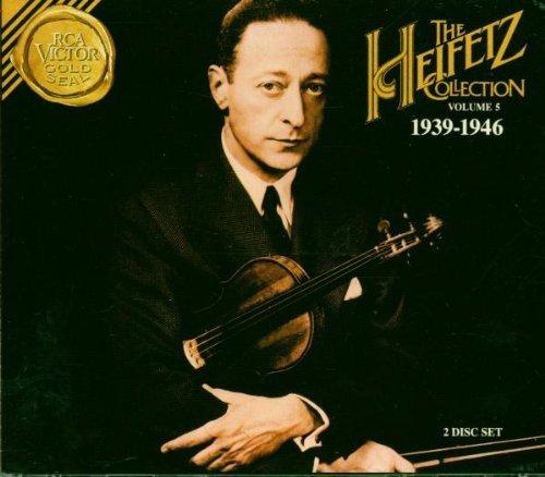 Heifetz Collection, Volume 5 (1939-1946) by Heifetz, Jascha (1997-06-17?