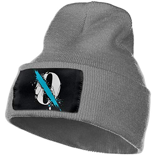 SmallHan Mens & Womens Queens Of The Stone Age Skull Beanie Hats Winter Knitted Caps Soft Warm Ski Hat Deep Heather