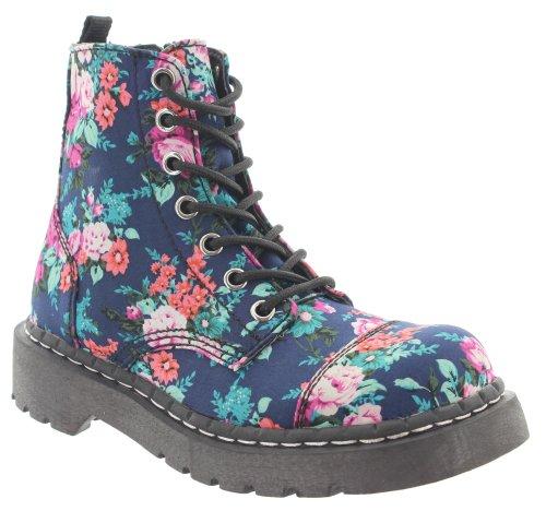 Combat T K Multicolour Boots Womens U r44x7t