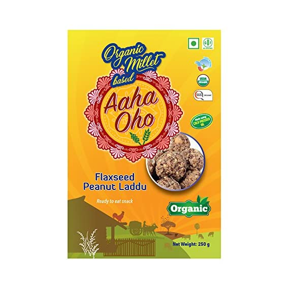 the green peppers Flaxseed Peanut Laddu, 250g