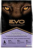 Evo 2.2 Lb Grain Free Turkey And Chicken Formula Cat And Kitten Food (1 Pack), One Size