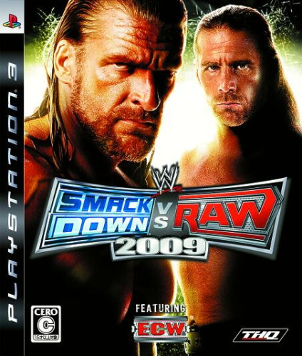 WWE Smackdown vs Raw 2009 [Japan - Game 2009 Wwe