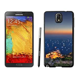 New Beautiful Custom Designed Cover Case For Samsung Galaxy Note 3 N900A N900V N900P N900T With Nature Peaceful Seashore Landscape Phone Case