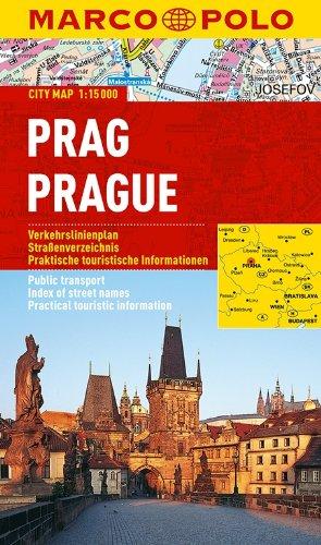 MARCO POLO Cityplan Prag 1:15 000 (MARCO POLO Citypläne)