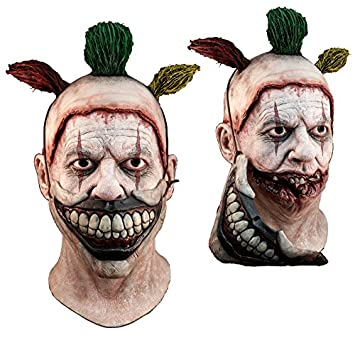 TWISTY THE CLOWN American Horror Story DELUXE Latex Mask w// Removable Mouth