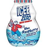 Icee Zero Blue Raspberry Liquid Water Enhancer, Pack of 12