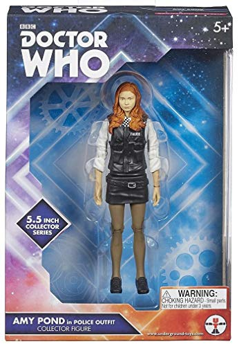 Doctor Who Amy Pond in Police Outfit Collectors Action Figure -