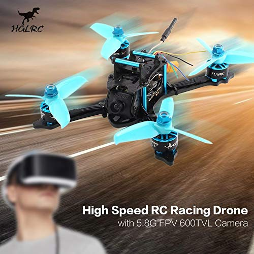 Wikiwand HGLRC XJB-145 145mm Micro RC Racing Drone 5.8G FPV 600TVL Camera CCD OSD PNP by Wikiwand (Image #1)