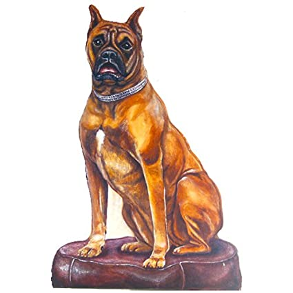 Amazon Boxer Dog Doorstop Home Kitchen