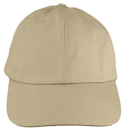 Baseball Style Cap for Men and Women Solid Color 100% Cotton by bogo Brands - Bogo Style