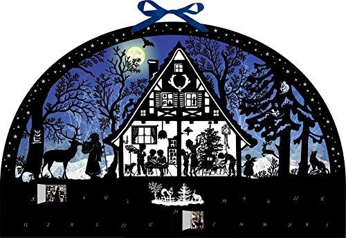 Wandkalender – Lichterbogen Weihnachtswald Kalender – 14. September 2018 Barbara Behr Coppenrath B077Y2RH9R Jahreszeiten: Winter