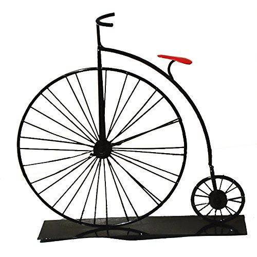 7.5 inch Nostalgic old-fashioned metal bicycle model, creative desktop decorations, retro home decoration bike