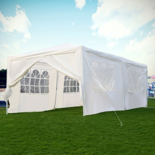 TANGKULA Outdoor 10'x20'Canopy Party Wedding Tent Heavy duty Gazebo Pavilion Cater Events