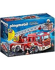 Playmobil 9463 City Action Brandweerladderwagen