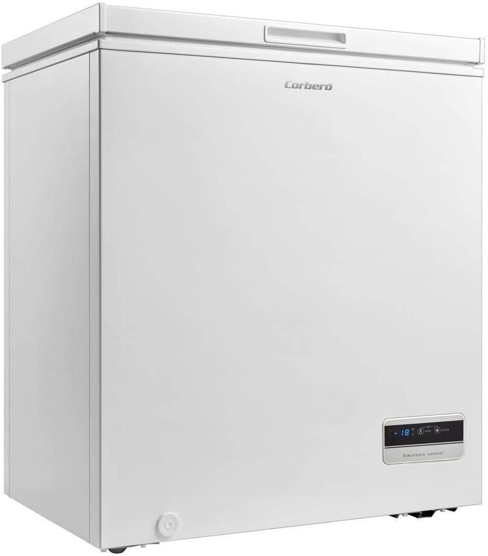 Corbero Congelador Horizontal CCHM159W,93L,A+,85x+: 193.6: Amazon ...