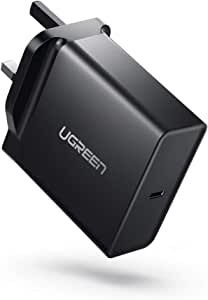 UGREEN USB C Charger 65W Type C Wall Charger Laptop Power Adapter PD2.0 Compatible for Apple MacBook Air iPad Pro, Samsung, Lenovo, ASUS, Acer, Dell XPS, HP Spectre, USB-C Phones and Nintendo Switch