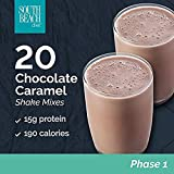 South Beach Diet Chocolate Caramel Shakes, 1.4 Oz Packet, 20 Count Limited TIME Discount