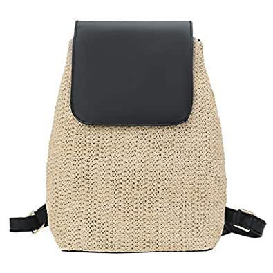 Amazon.com: Pengy Teenager Retro Weaving Backpack Students