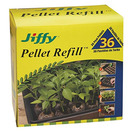 Jiffy 36 mm. Peat Plant Pellet Refill - Pack of ()