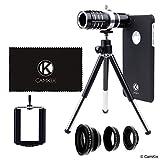 Lens Kit for Apple iPhone 7 Plus - 12x Telephoto Lens, Fisheye Lens