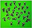 Monkey Figures 25 Tiny Plastic Monkey Figures Party Favors