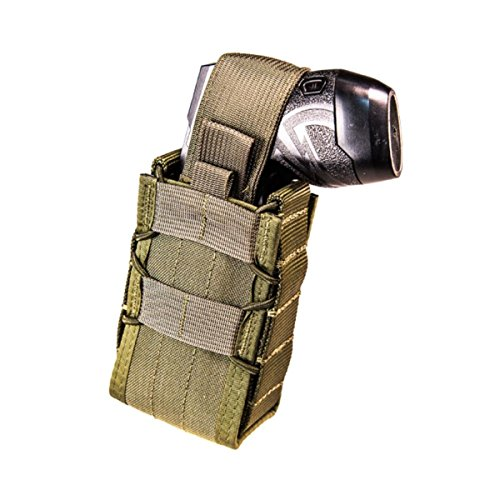 (High Speed Gear Stun Gun TACO MOLLE Pouch/Holster, Holds X26 and X2 - Olive Drab)