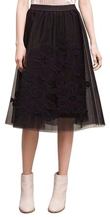 0c031ad38c13 Anthropologie Fleurs du Nuit Tulle Skirt by Maeve - NWT(Regular XS ...