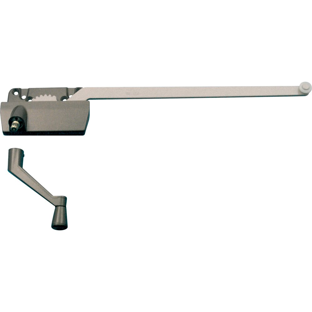 Prime-Line Products TH 24040 Single Arm Operator, 13-1/2-Inch with Crank, Right Hand, Clay