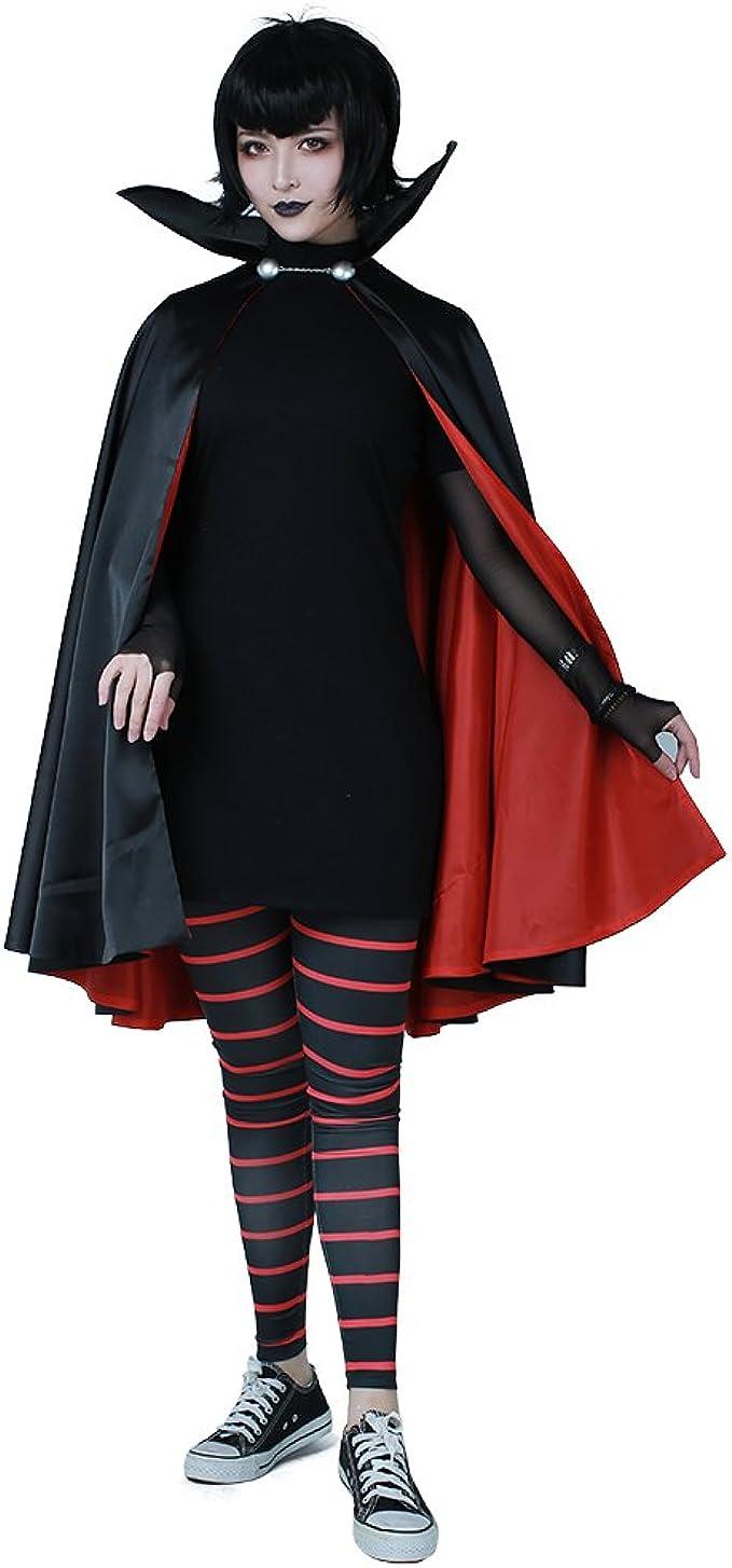 Costume Halloween Mavis.Amazon Com Cosplay Fm Women S Mavis Dracula Halloween Costume With Cape Clothing