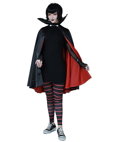 Amazon.com  Cosplay.fm Women s Mavis Dracula Halloween Costume with ... 9beead8c3