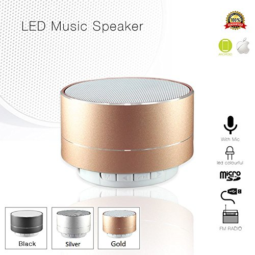Portable Bluetooth Microphone Smartphone Rechargeable