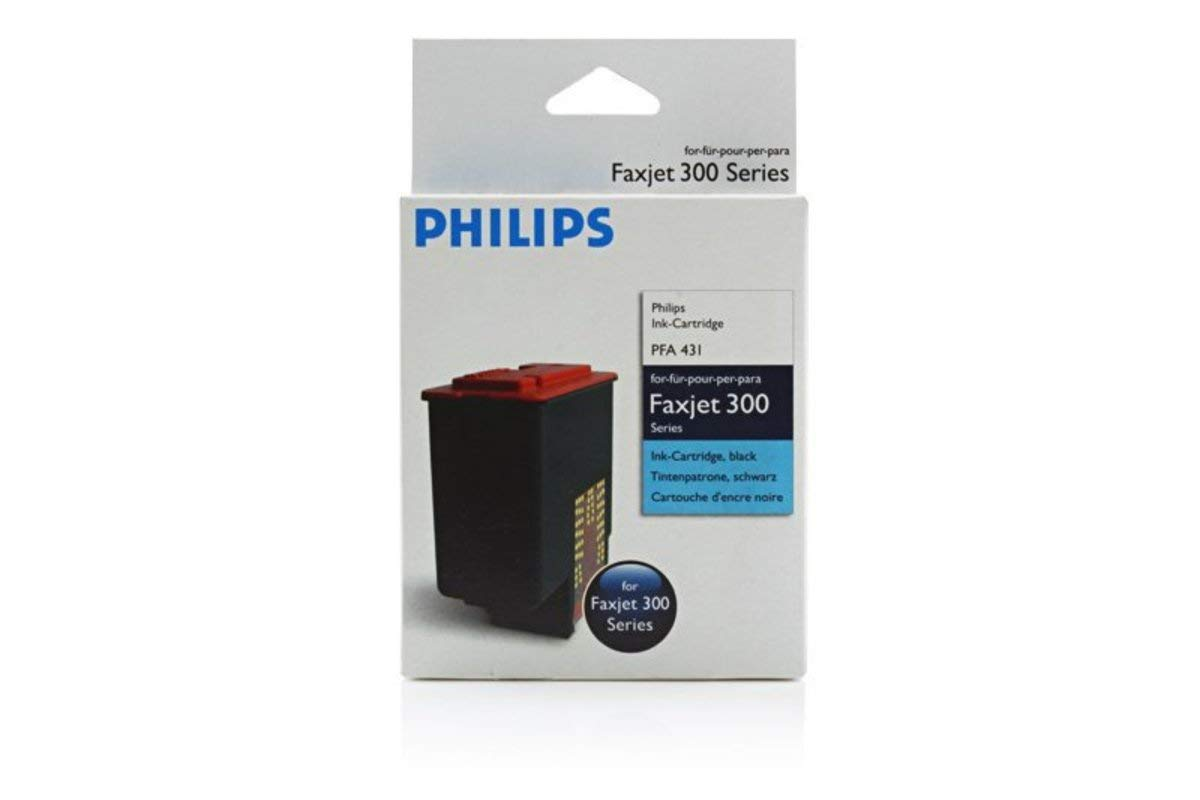 500 Pages Printhead black 18ml - original Philips Faxjet 320 906115308019 // PFA-431