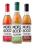 Drink More Good All Natural Soda Syrups - 3 Pack