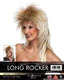 Long Rocker Wig - Mixed Blonde
