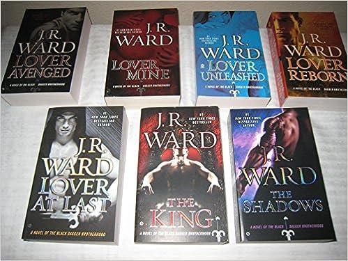 Books 7 13 In J R Ward S Black Dagger Brotherhood Lover Avenged