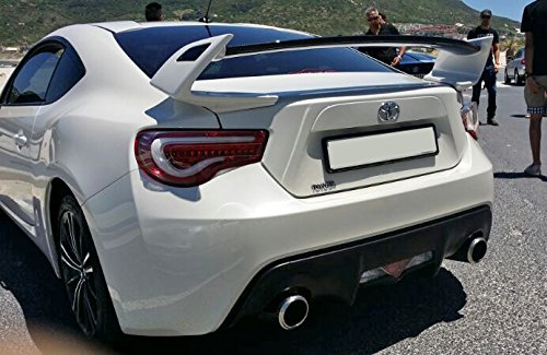 Amazon.com: FULL FRP Fiber Glass TK Style Rear Trunk Boot Wing Spoiler Set Tuning Parts For Toyota FT86 86 GT86 BRZ: Automotive