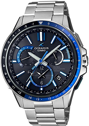 CASIO Men's Watch OCEANUS GPS hybrid Solar radio OCW-G1100-1AJF