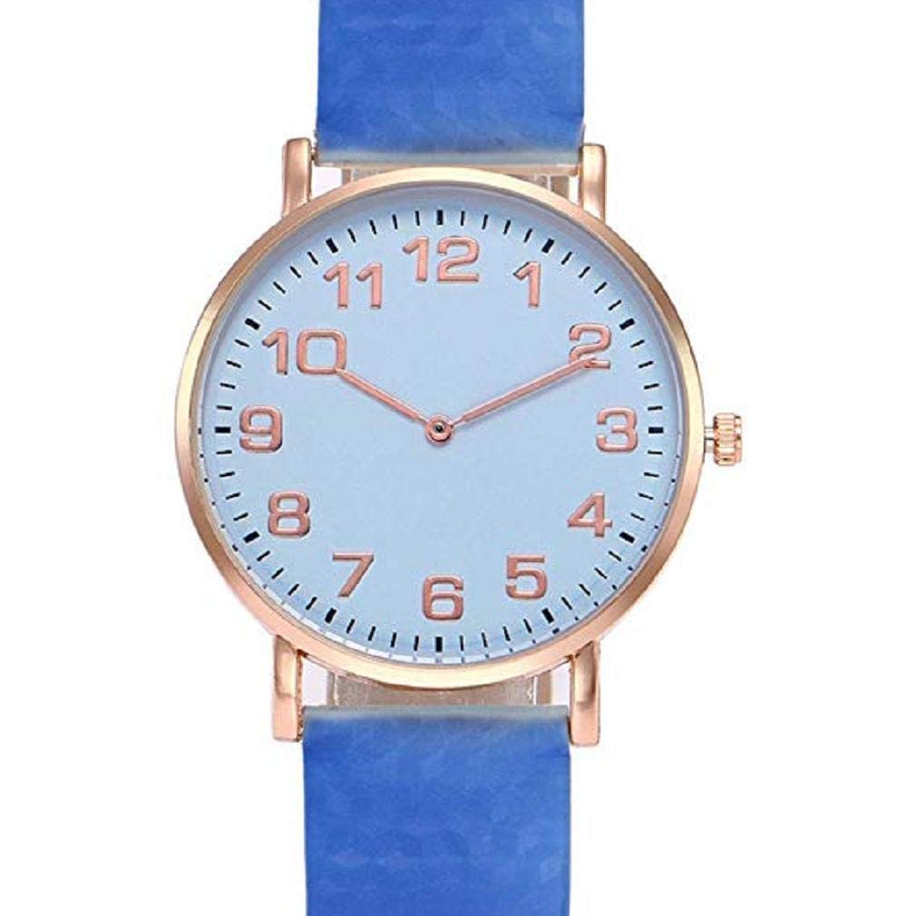 Scpink Relojes de Mujer Thermochromic Relojes de liquidación Relojes de señora Relojes de Pulsera Cuero (Blanco): Amazon.es: Relojes